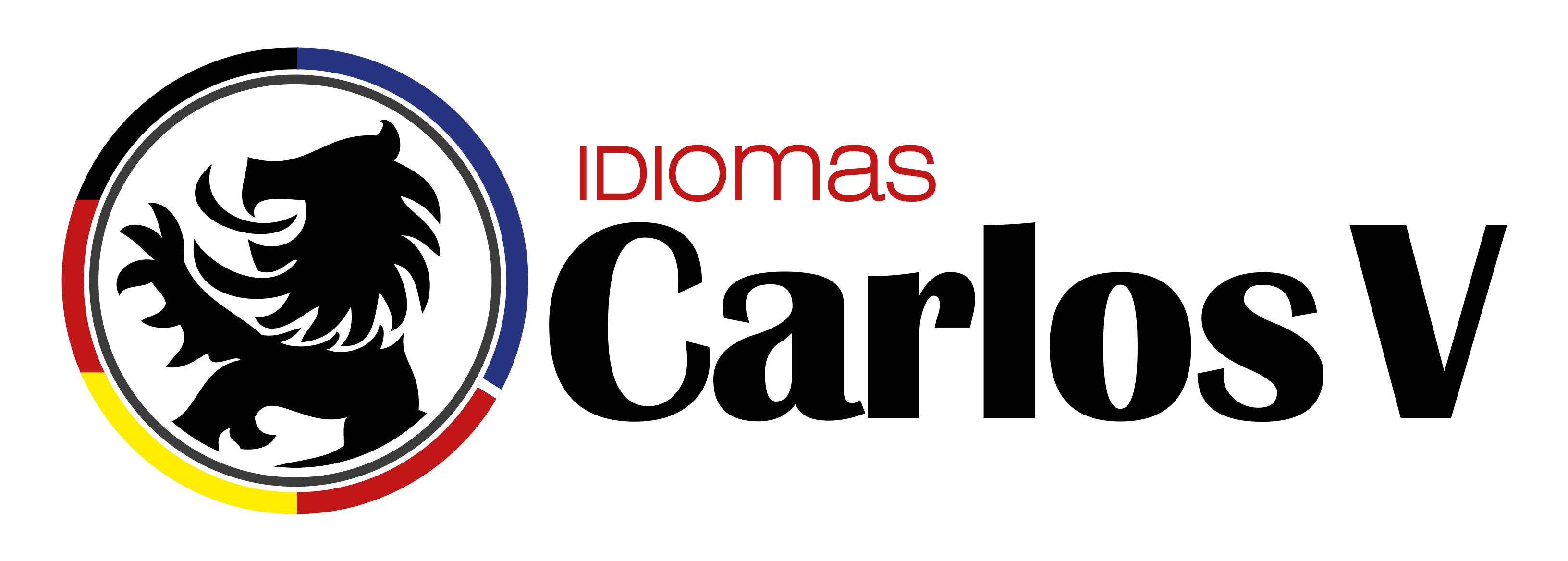 LogoCarlosV Idiomas